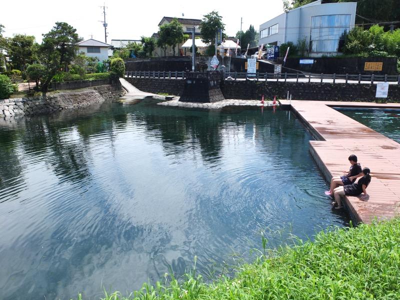 嘉島 天然 プール